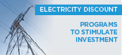 Electricity discount - New measure to stimulate manufacturing invesment